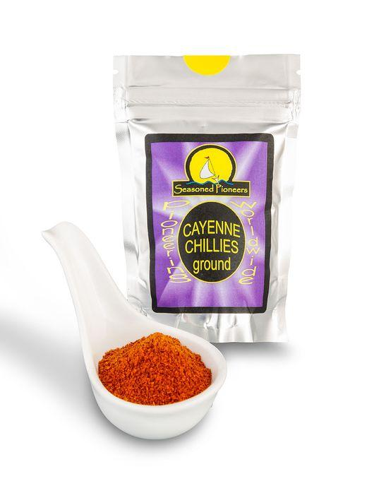 Ground Cayenne Chillies