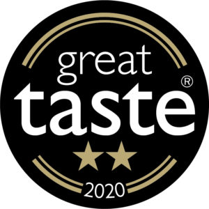 Great Taste Award 2020 2 star