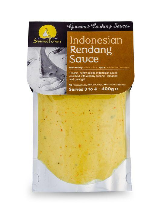 Rendang cooking sauce