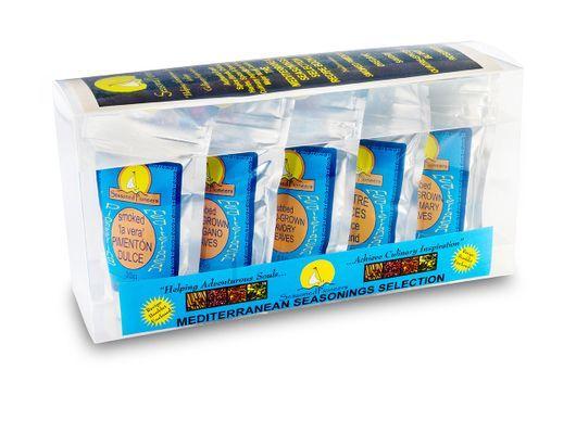 Mediterranean spices gift box