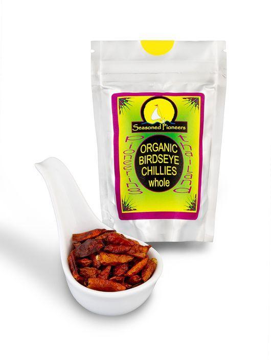 Organic Whole Birds Eye Chillies