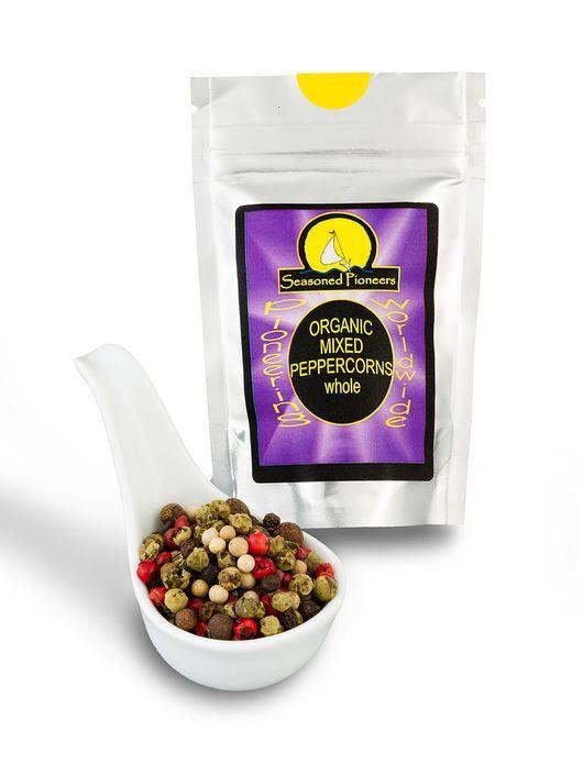 Organic Mixed Peppercorns