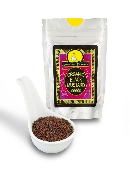 Organic Black Mustard Seeds