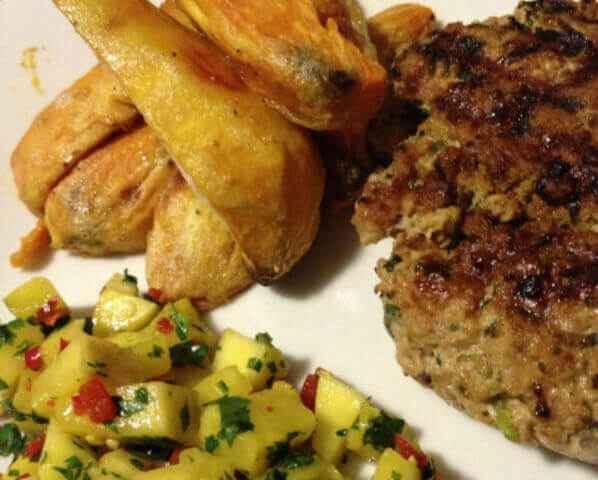 Thai pork burgers - Resize
