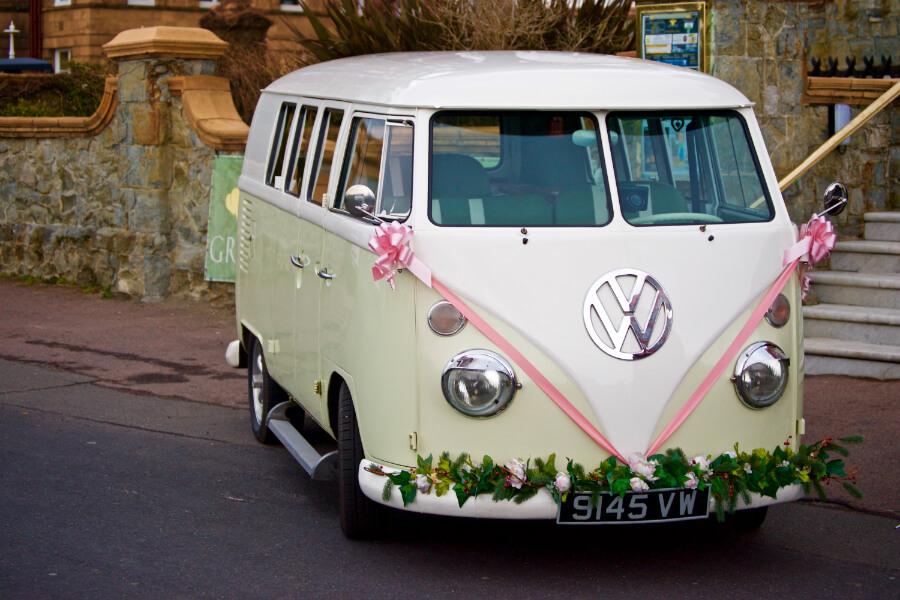 VW Wedding Van