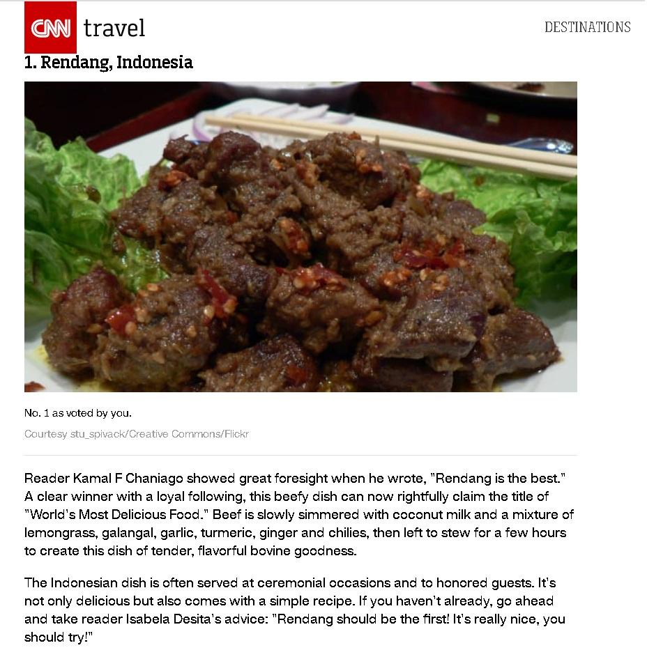Beef Rendang CNN