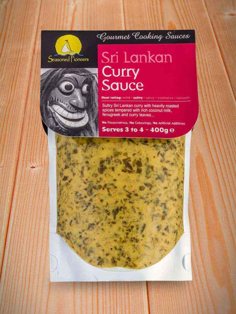 Sri Lankan Curry Gourmet Cooking Sauce